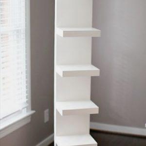 1600 X 300 X 300 Side Stand Floating Shelf Set (Wall mounted)