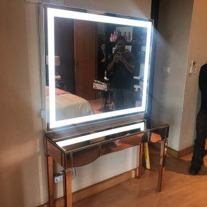 900 X 750 LED Wall Mirror