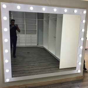 2100 X 1900 Hollywood Style Clauset Mirror