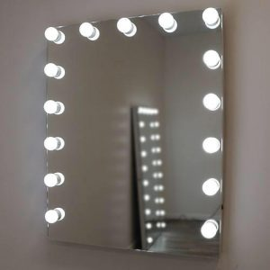 850 X 590 Hollywood Style Frameless Wall Mirror