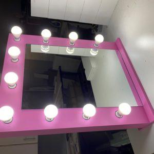 700 X 620 Framed Princess Theme Table top Vanity Mirror