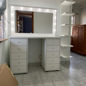 1300 X 500 X 900 10 DRAWER GLAM STATION