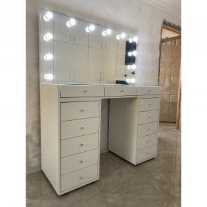 1300 X 500 X 900 13 Drawer Vanity